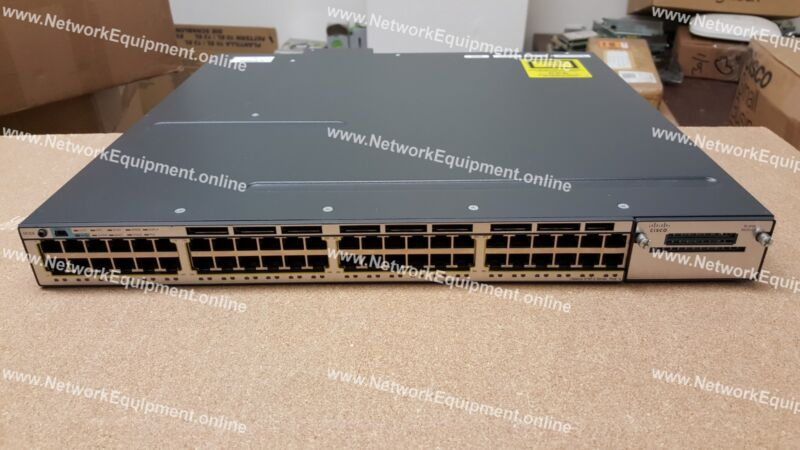 🔥 Cisco Ws-c3750x-48pf-e Poe+ Ip Services License Gigabit 3750x-48pf-e Switch L