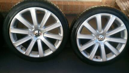 """18"""" VW Wheels and Tyres 225/40R18"""