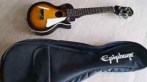 Epiphone Ukulele Les Paul  Model & Case ...Slightly Broken Chippendale Inner Sydney Preview