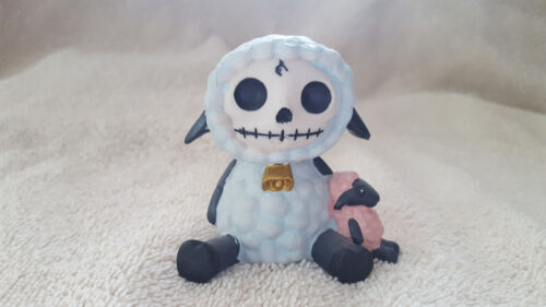 FURRYBONES Woolee the Lamb Figurine Skull in Costume Collect New Free Shipping