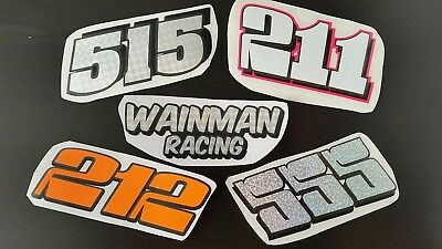 Brisca f1 stockcar stickers - wainman