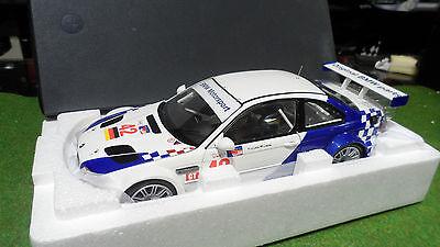 BMW M3 GTR 2001 LEHTO 42 MÜLLER 1/18 MINICHAMPS 80430139183 voiture miniature
