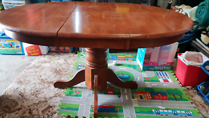 Blackwood extendable dining table