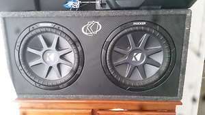 BARGAIN 12 inch Kicker comp subs in awesome condition Tootgarook Mornington Peninsula Preview