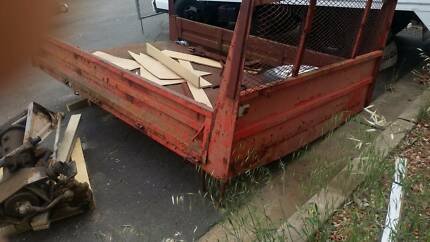 Steel tray for ute or small truck