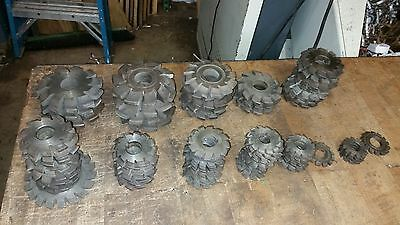 Involute Gear Cutters 3.14dp No.8 12-13t Or No.7 14-16t Or No.6 17-20t