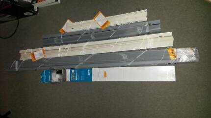 PVC Venetian Blinds Grey/Ivory, Some New, Some Used Byford Serpentine Area Preview