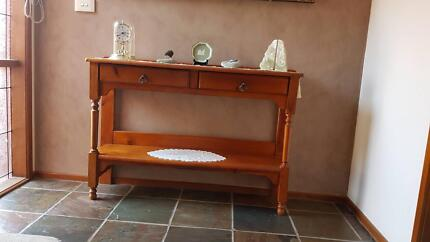 Quality Timber hall table - Add style to your entrance