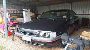 1993 black ed xr6 falcon Daisy Hill Central Goldfields Preview