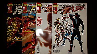 FLASH (deutsch) # 1 + 2 + 3 + 4 KOMPLETT - DINO VERLAG 1999 / 2000 - TOP