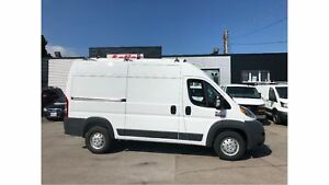 2018 Ram Promaster 2500 High roof136 SHELVING AND LADDER RACK