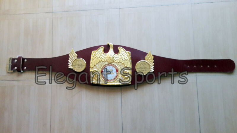 Old Style IBF World Boxing Champion Replica Belt Adult Size