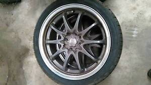 Holden Astra 4* rims and tyres come off a Ts (universal status) Salisbury Salisbury Area Preview