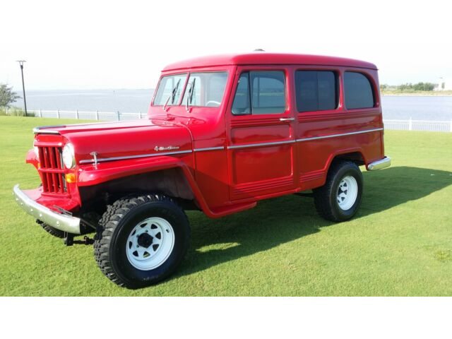 Willys : Other 1958 WILLIS WILLY'S JEEP 4X4 RESTORED