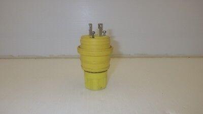 Woodhead 24w04 Plug Nema L1-15p 15a 125v Watertight