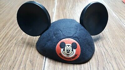 Vintage Mickey Mouse Club Hat Ears By Jacobson hat. Walt Disney world exclusive.