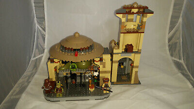 Lego 9516 and 75005 Star Wars Jabba's Palace and Rancor Pit