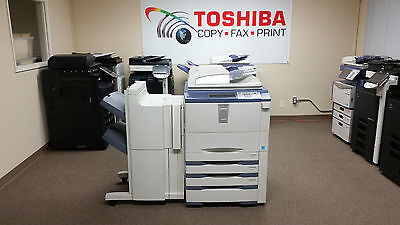 Toshiba E-studio 756 Copier-printer-scanner. Stapling Finisher Included