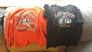 boys size 5/6 motorcycles shirts