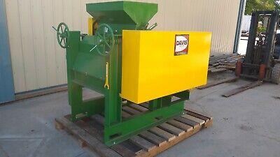 Davis 12 X 30 Roller Mill Roll Crusher Breaker Milling