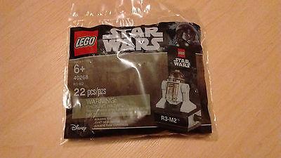 LEGO Star wars 40268 Droid R3-M2 Disney 22Pcs Set RARE