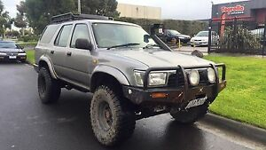1992 twin locked Toyota 4Runner commodore v6 engineered Burnley Yarra Area Preview