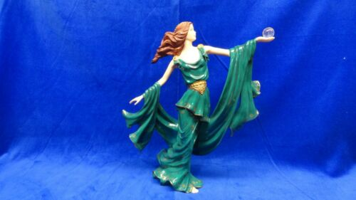 """Franklin Mint Porcelain Statue of Woman in Flowing Gown  """" FORTUNE""""  VERY NICE"""