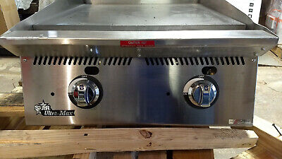 Star 824ma Ultra-max 24in Manual Gas Griddle New Scratchdent