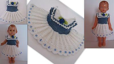 Kleidchen   für Püppchen 15 16 cm