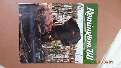 1988 Remington Firearms Ammunition Clothing   Accessories Catalog