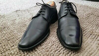 To Boot New York Black Adam Derrick Formal Shoes Italy Mens 8