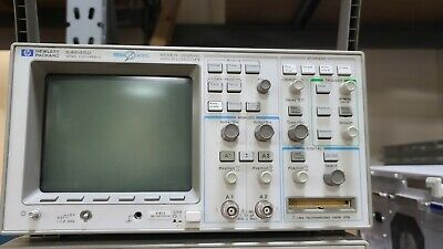 Hp Hewlett Packard 54645d Mixed Signal Oscilloscope 100mhz 216 Channels