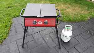 Gas BBQ 2 Burner + New 4KG Bottle For Camping & Outdoors Penrith Penrith Area Preview