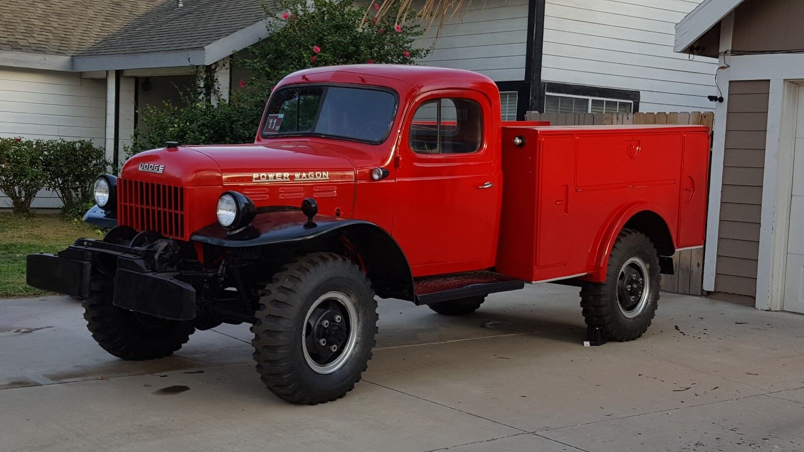 1954 Dodge Power Wagon  1954 Dodge Power Wagon 4X4 with Morrison Carry-All™ Service Bed