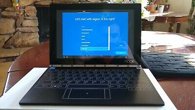 Lenovo Yoga Book Windows 10 2 in 1 Laptop (Used) 10.1' Intel Z8550  4 GB RAM