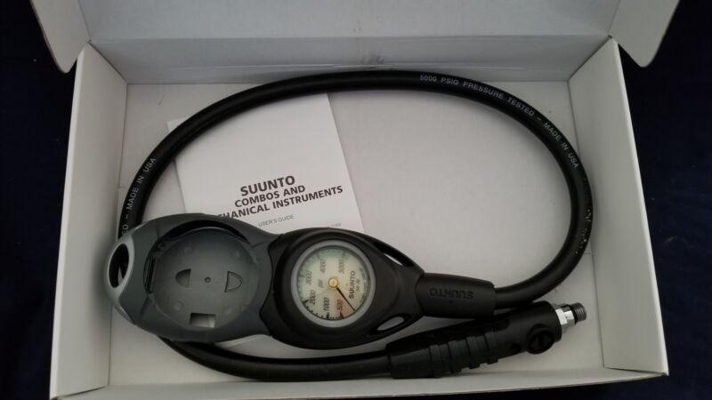 Suunto 2 Gauge Console with 5000 psi Pressure Gauge