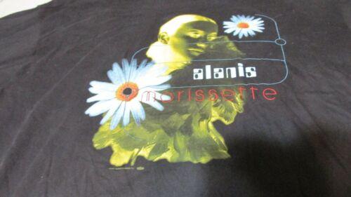 Vintage Alanis Morissette 1996 Jagged Little Pill Tour Shirt Large