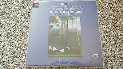Byrd - Songs of Sundrie Natures/ The Hilliard Ensemble Vinyl LP