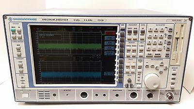 Rohdeschwarz Spectrum Analyzer 9 Khz 3.5 Ghz Fsea Woption Fse-b4