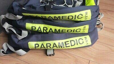 Paramedic Backpacks Trauma Bags Basic Life Support Set Of 3 - Bls1 23