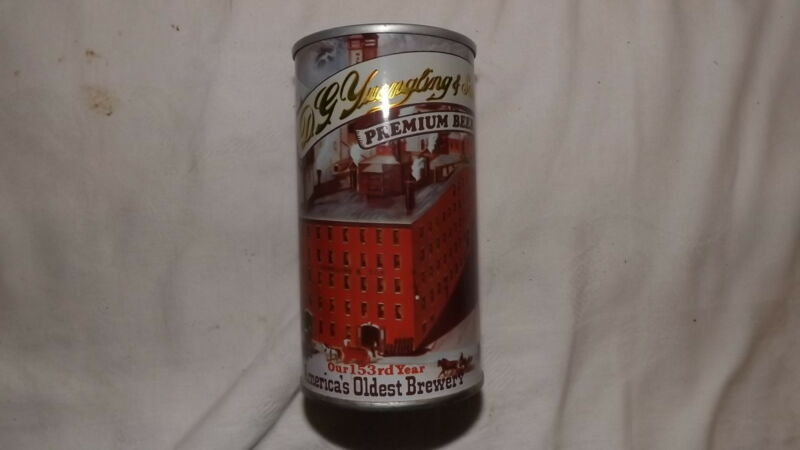 Vintage Yuengling 153 rd Year Beer Can Steel an