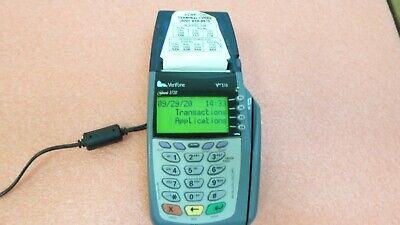 Verifone Vx 510 Omni 3730le Credit Card Terminal M251-000-033-naa Rev.f