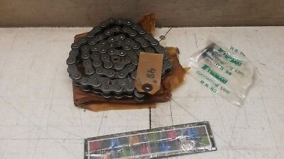 Nos Mic Tsubaki Rs50 4 Roller Chain 101-1426 3020013965159 58 W Master Link
