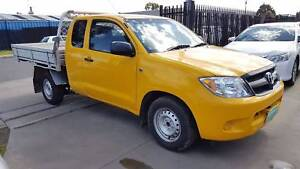 2008 Toyota Hilux Space Cab Tray Ute AUTO Williamstown North Hobsons Bay Area Preview