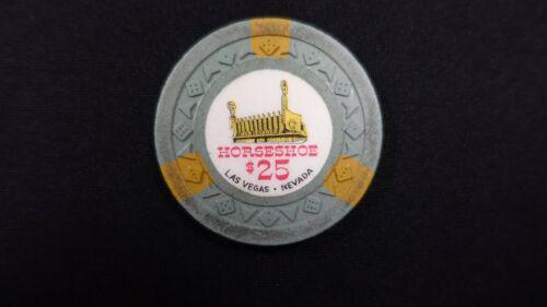 1961 Horseshoe $25 Casino Chip Las Vegas Nevada Arodie Mold