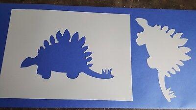 Schablonen 492 Dinosaurier Vintage Stanzschablonen Shabby Mylarfolie Stencil Dinosaurier Schablonen
