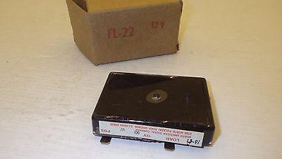 North American Signal Co Fl-22 12v Solid State Flasher Nib