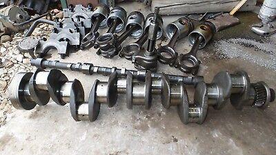 Perkins 354 Turbo Diesel Engine Parts Crankshaft Camshaft Rods Pistons Mains
