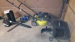 RYOBI LAWN MOWER 4 stroke 190cc almost brand new Reservoir Darebin Area Preview