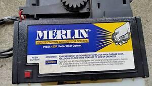 MERLIN PROLIFT 430R REMOTE CONTROL GARAGE DOOR MOTOR Clayton South Kingston Area Preview